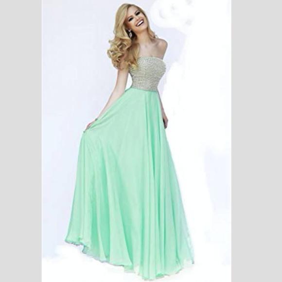 Seafoam Prom Dress